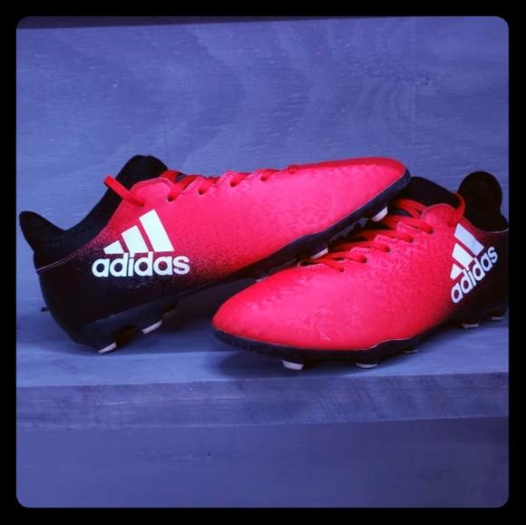 Terrible vela bofetada  adidas Shoes | Youth X 163 Fg Soccer Cleats Redblack | Poshmark